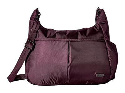 Pacsafe Daysafe Anti-Theft Crossbody Bag (Blackberry) Cross Body Handbags