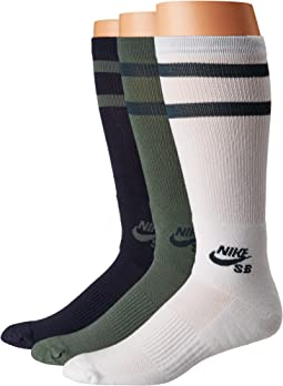 Nike - Crew Skateboarding Socks 3-Pair Pack