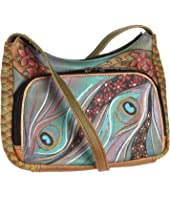Anuschka Handbags - 481 Compact Crossbody Travel Organizer