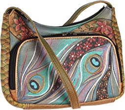 Anuschka Handbags - 481 Compact Crossbody Travel Organizer