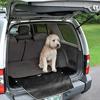 Kurgo Cargo Liner Cover for Dogs   Pet Trunk Car Cover   Dog Nonslip Protector for Trunks   Bumper Flap for Extra Protection   Water Resistant   For Sedan, SUV, Trucks   2 Storage Pockets   Cargo Cape