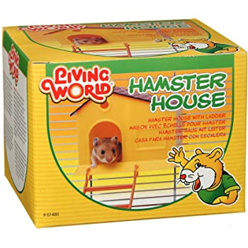 Living World Hamster House, with Step Ladder