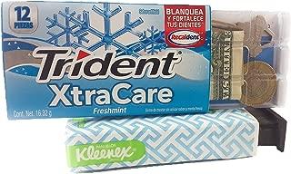 Kleenex & Trident Diversion Safe Box Stash Hidden Storage for Cash 2 Pack Bundle Secret Box Discreet Safes Travel Money/Bank/Keys