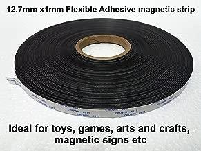 Flexible Adhesive Magnet strip 12.7mm 30 meters