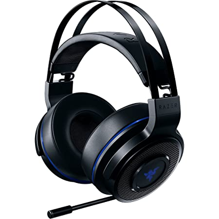 Razer Thresher 7.1 PS4 PS5 対応 Dolby 7.1ch サラウンドサウンド ワイヤレスヘッドセット 【日本正規代理店保証品】 RZ04-02230100-R3M1 ブラック