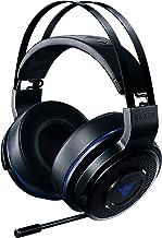 Razer Thresher 7.1 PS4®対応 Dolby 7.1ch サラウンドサウンド ワイヤレスヘッドセット 【日本正規代理店保証品】 RZ04-02230100-R3M1 ブラック
