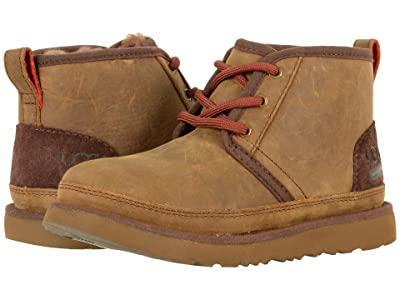 UGG Kids Neumel II Waterproof (Little Kid/Big Kid) (Grizzly) Kid