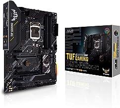ASUS TUF Gaming H470-PRO WiFi 6 LGA1200 (Intel 10th Gen) ATX Gaming Motherboard (WiFi 6, Intel 1Gb LAN, Front Panel TypeC ...