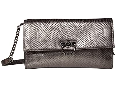 Rebecca Minkoff Jean Convertible Clutch (Anthracite) Handbags