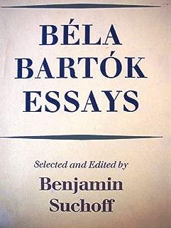 Béla Bartók essays