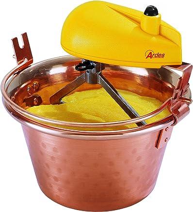 Ardes 2460 mezclador d polenta - mezcladores de polenta (Cobre, Amarillo), [Enchufe italiano]