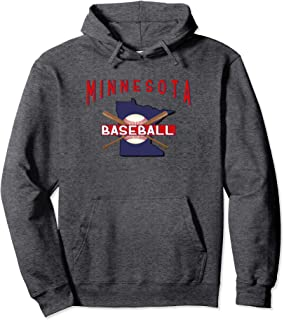 Minnesota Baseball Nice Twin Cities Hooded Sweatshirt