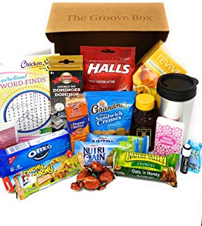 Get Well Gift Basket - Care Package - Send Care and Concern - Feel Better Soon Gift Basket for Get Well Wishes for Men or Women - Snacks, Games, Word Search, Tea and More!