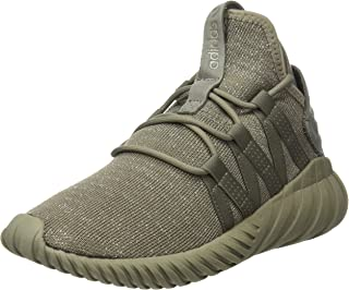 adidas Originals Tubular Dawn Womens Trainers/Shoes - Black-Khaki-5.5