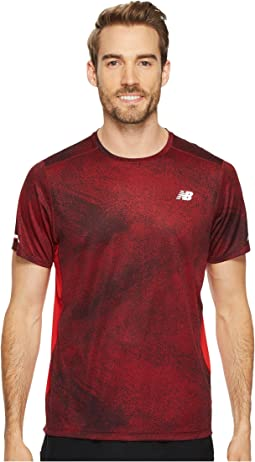 New Balance - NB Ice Short Sleeve Print