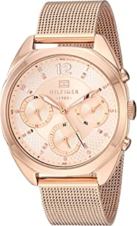 Tommy Hilfiger Women's Quartz Stainless Steel Rose Gold Watch 1781896