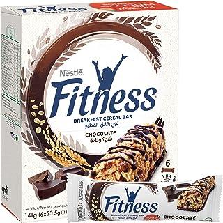 Nestle Fitness Chocolate Breakfast Cereal Bar - 6 Packs/141 gm