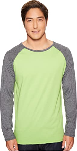 Long Sleeve Raglan Shirt - Reversible Front/Back