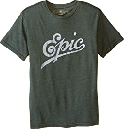 The Original Retro Brand Kids - Epic Heather Short Sleeve Tee (Big Kids)