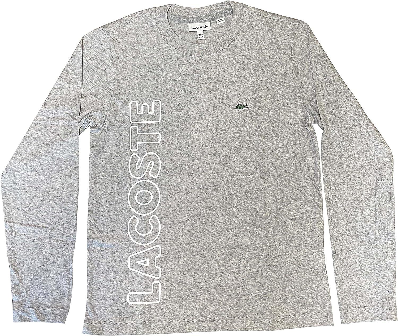 Lacoste Boy's Long Sleeve Print T-Shirt