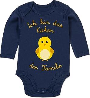 Shirtracer - Sprüche Baby - Küken der Familie - Baby Body Langarm