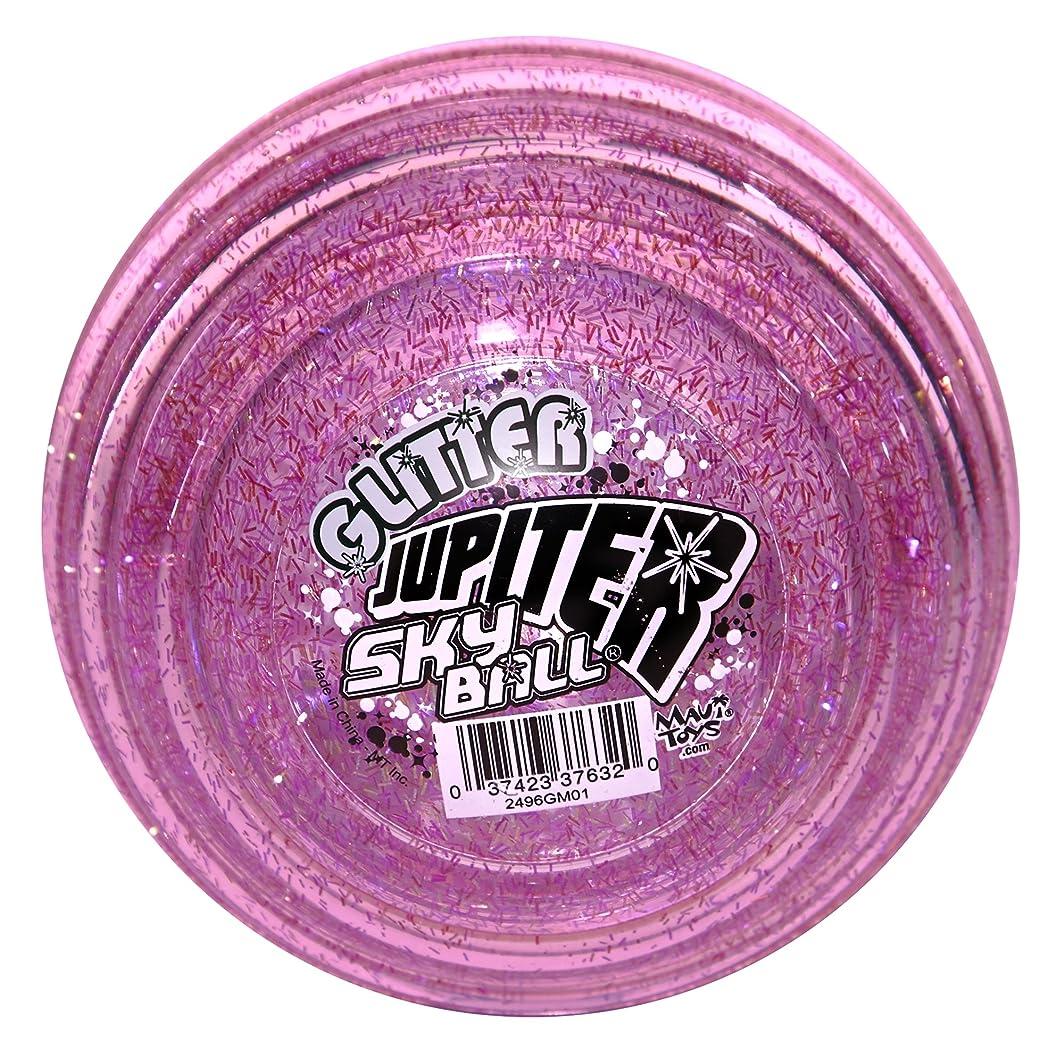 Maui Toys Glitter Jupiter Sky Ball, 120mm, Assorted Colors