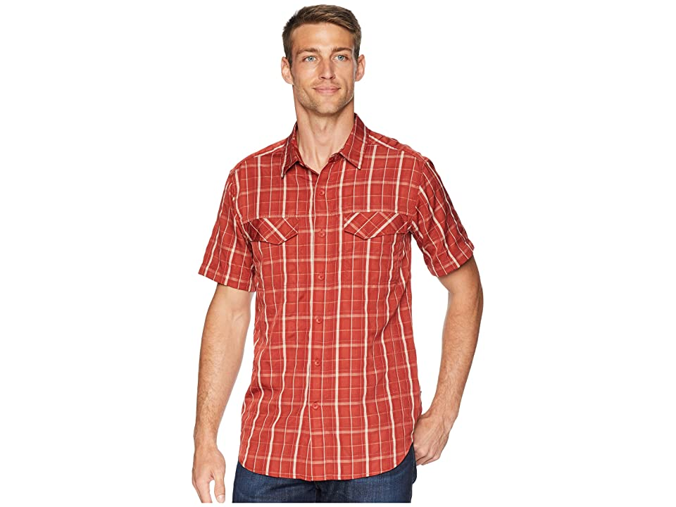 Royal Robbins Ultra Light Short Sleeve Shirt (Sumac) Men