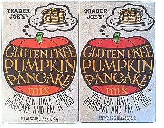 Trader Joes Gluten Free Pumpkin Pancake Mix - 18.5oz (Pack of 2)