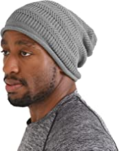 Mens Cotton Summer Sports Beanie - Slouchy Cooling Womens Slouch Hat Chemo Cap