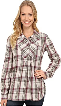 Sugar Pine Plaid Long Sleeve Tunic