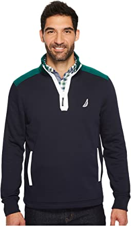 Nautica - Long Sleeve 1/2 Zip Sweater