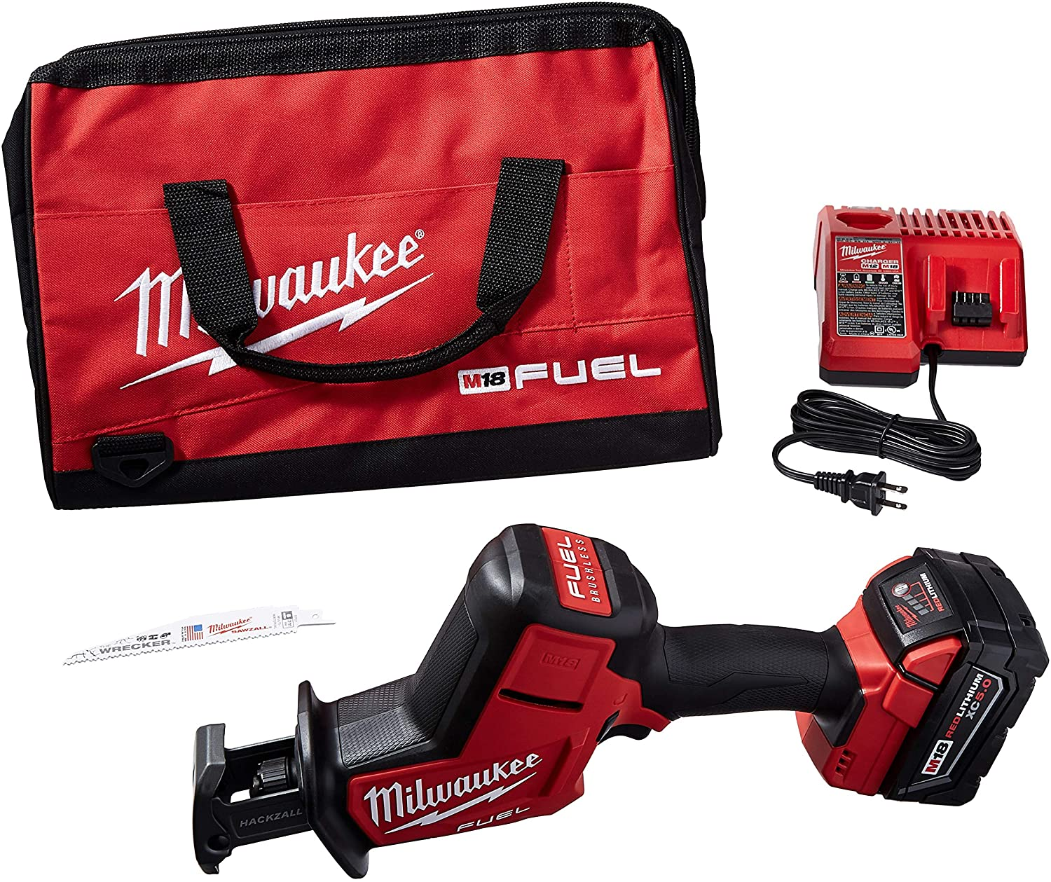 MILWAUKEE'S Max 77% OFF Electric Tools 2719-21 Fuel Max 83% OFF M18 Hackzall Kit