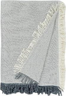 Martina Home Espiga - Foulard Multiusos, Crudo Gris, 230 x