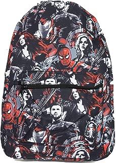 Marvel Avengers Infinity War Spider-Man Iron Man All Over Print Backpack