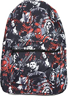 Marvel Avengers Infinity War Spider-Man Iron Man All Over Print Backpack