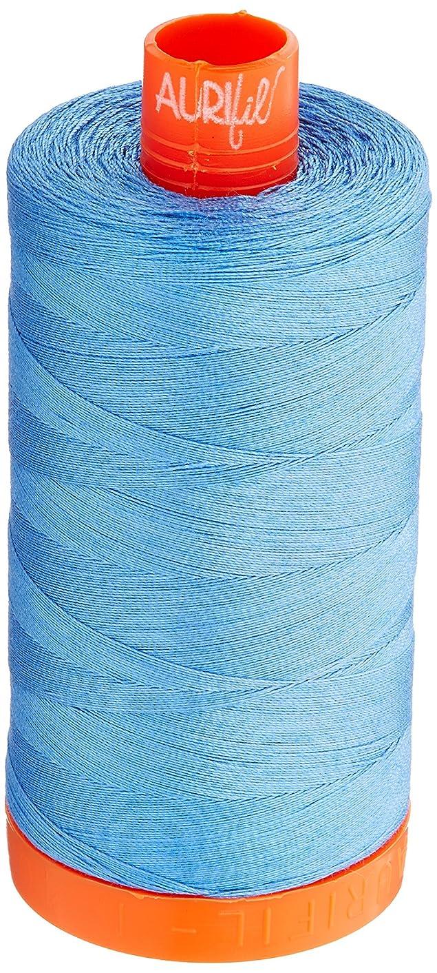 Aurifil Mako Cotton Thread Solid 50wt 1422yds Light Wedgewood