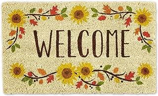 welcome spring doormat