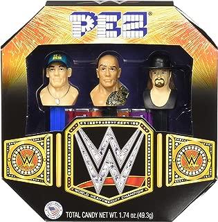PEZ WWE Gift Set, 1.74 Ounce