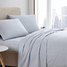ED by Ellen DeGeneres Percale Collection 4-Piece Percale Weave Sheet Set - 100% Cotton Bedding - Cool, Crisp, and Breathab...