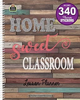 Teacher Created Resources Home Sweet Classroom Lesson Planner (TCR8294)
