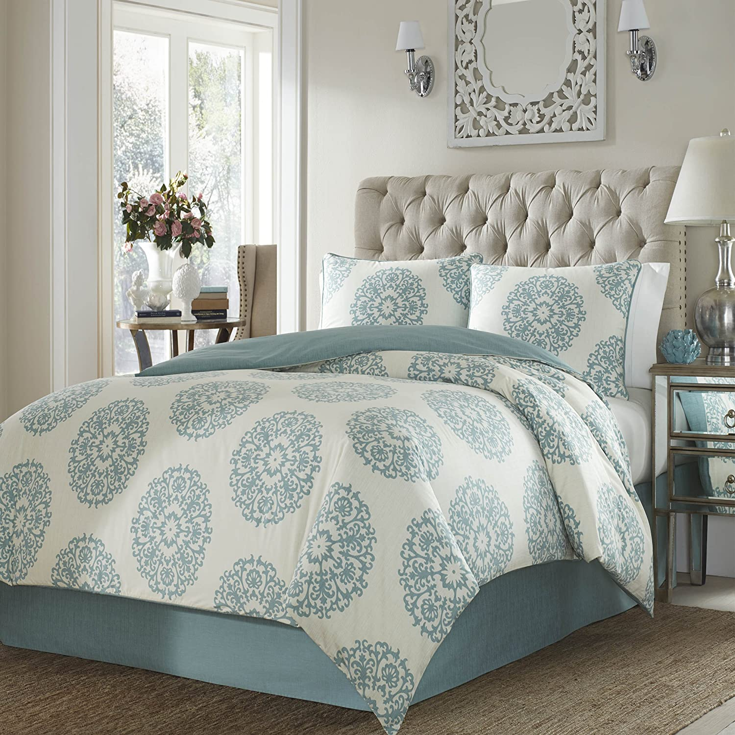 Stone Cottage Cotton Comforter Set, Full Queen, Bristol