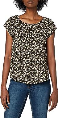 Only Onlvic SS AOP Top Noos WVN T-Shirt Femme