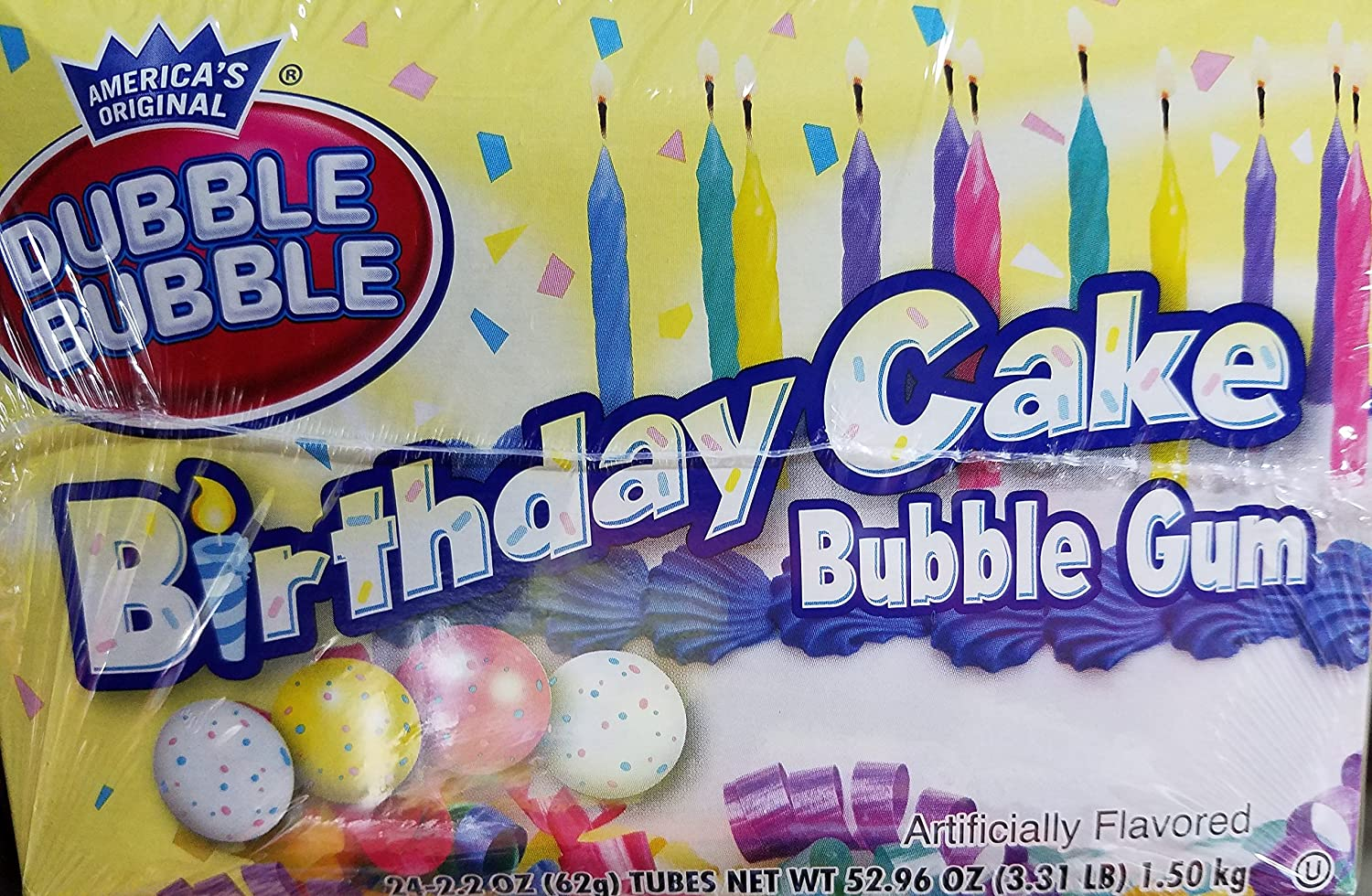 Dubble Bubble Birthday Cake 24 Count Boston Mall Challenge the lowest price of Japan Gum