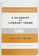 A Glossary of Literary Terms (Rinehart English Pamphlets