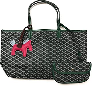 Fashion Designer Shopping Tote Bag with Matching Purse Wallet