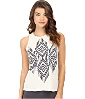 P.J. Salvage - Batik Me Thermal Tank Top