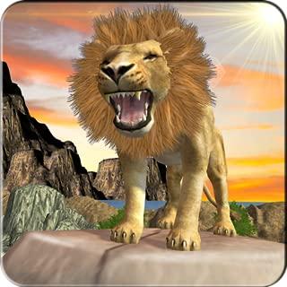 Amazon Jungle Lion Simulator 3D: Hero Hunter hard Time survivor Tiger Warrior Revolution Adventure Mission Games Free For Kids 2018