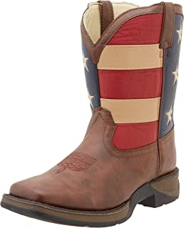Durango BT245 Lil 8 Inch Patriotic Pull-On Boot