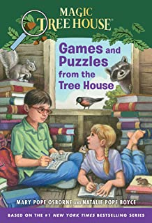 Games and Puzzles from the Tree House: Over 200 Challenges! (Magic Tree House)