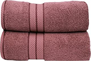 Bliss Casa - 2 Pack Bath Towels 70 x 140 CM - Premium 500 GSM Luxury 100% Ring Spun Cotton Towels Highly Absorbent, Quick ...